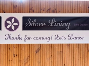 Silver Lining Banner